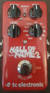 TC Electronic Hall Of Fame 2 Reverb - Guitar Pedal