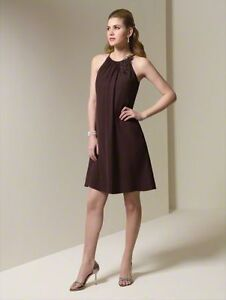 Alfred Angelo dress - s12 - Espresso - Brandnew with tag