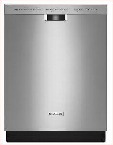 Lave-vaisselle KitchenAid,garanti à 100 % jusqu'au 1er juin 2020