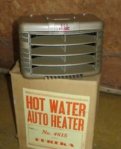 Eureka No. 4615 Hot Water Auto Heater NOS