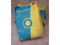 25kg bags cement (Bluecircle Mastercrete)