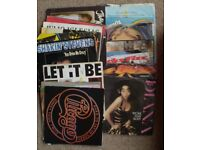 """Approx 225 7"""" Vinyl Records .........Mainly 60s/70s & Some 80's Chart Hits"""