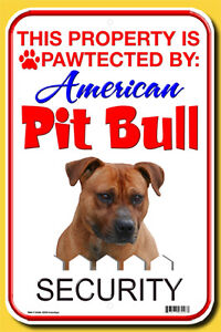 DOG SIGNS - Aluminum - NEW