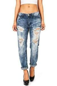 Women S Distressed Ripped Jeans