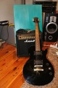 Epiphone Les Paul Special & Marshall Amps
