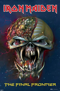 Iron Maiden - The Final Frontier Poster Heavy metal