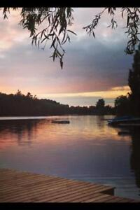 Cottage for Rent on Private Lake - SEPT & OCT OPEN
