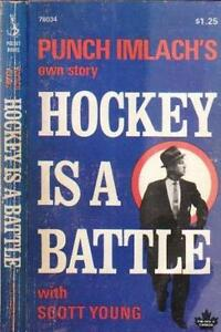 Punch Imlach's own story vintage book: 1969 print (Maple leafs)