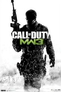 CALL OF DUTY MODERN WARFARE 3 POSTER ~ STALK 22x34 SOAP MACTAVISH Video Game MW3