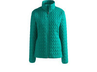 Women's Regular Patterned PrimaLoft Packable Jacket XL NEW