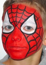 Face painter & Childrens Party host CRB checked and fully Insured