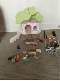 ELC wooden toy bundle £10