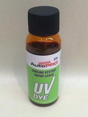 AutoPro cooling System Water Leak Coolant UV Dye Tint Leak Detector 1oz. Bottles