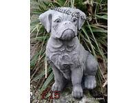 dogs stone garden ornaments