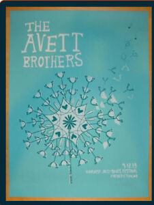 Looking for Fredericton Avett Brothers Poster