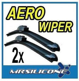 "Set of 16"" and 26"" hook aero wiper blades"