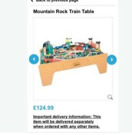 Large Train Table with accessories