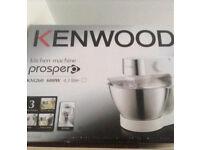 Kenwood Kitchen Machine With Blender