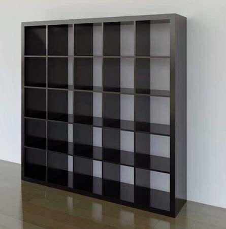 Ikea Expedit 5x5 : ikea expedit 5x5 black brown bookcase shelves room divider in wandsworth london gumtree ~ Eleganceandgraceweddings.com Haus und Dekorationen