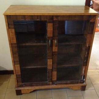 Glass fronted cupboard - Urgent sale by 6 September Chatswood Willoughby Area Preview