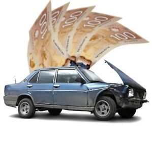 Best prices GUARANTEED for unwanted used scrap cars!!!