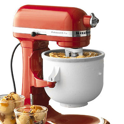 KitchenAid Ice Cream Maker Attachment for 5 & 6 Quart Stand Mixers