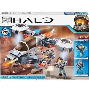 NEW MEGA BLOKS HALO POLICE SUPPORT HALO POLICE AIR HORNET SET  - MEGEBLOKS 99698429