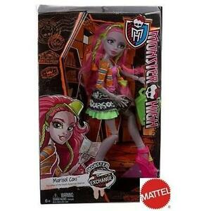 NEW MONSTER HIGH MARISOL COXI DOLL MATTEL - MONSTER HIGH EXCHANGE PROGRAM - KIDS - TOYS - DOLLS -FASHION DOLLS
