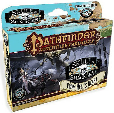 Pathfinder Adventure Card Game: Skull and Shackles 6 From Hell's Heart