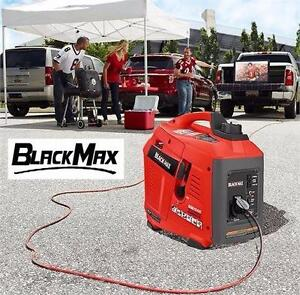 NEW BLACK MAX INVERTER GENERATOR   GAS POWERED - DIGITAL - 1000W POWER EQUIPMENT GENERATORS 92343083