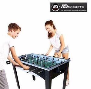 NEW MD SPORTS 48-INCH SOCCER TABLE FOOSBALL JITZ TABLE CORNER KICK SPORTS RECREATION GAME ROOM GAMES TABLES 96269885