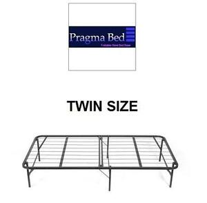 NEW PRAGMABED BI-FOLD BED FRAME SIMPLE BED FRAME TWIN SIZE - BI-FOLD 105907616