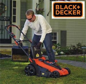 NEW OB BLACK + DECKER CRDLESS MOWER Lithium 3-In-1 Cordless Lawn Mower, 20-Inch, 40-Volt LAWNMOWER  80095944