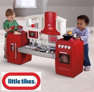 NEW LITTLE TIKES COOK 'N GROW   KITCHEN KID'S TOY CHILDREN BOYS GIRLS TOYS PRETEND HOUSE PLAY KIDS 98875584