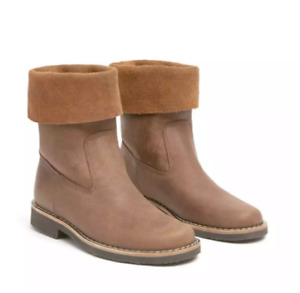 ROOTS CANADA Roll Over Boots - Africa Tribe  - Like NIB - Size 8