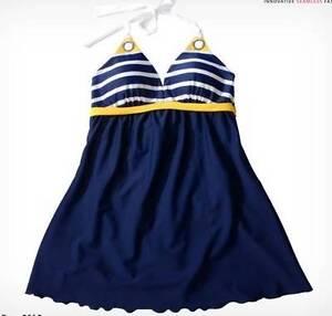 Striped Push-Up Bikini Dress Bathers -Size XL -  NEW Greenwood Joondalup Area Preview