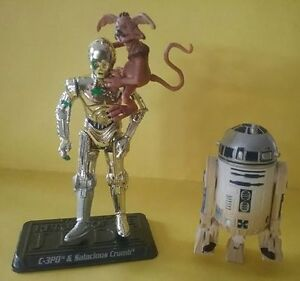 C-3PO & SALACIOUS CRUMB and R2-D2