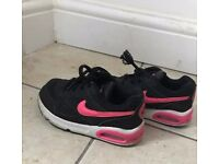 air max nike girls shoes 8,5 UK