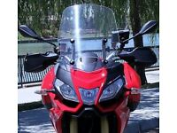 Aprilia Caponord 1200 Calsci screen/ windshield VGC