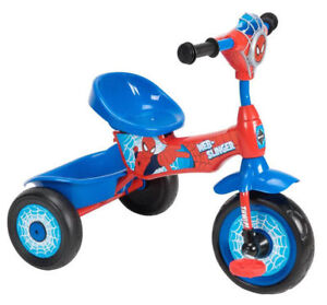 Brand New Huffy Spider Man Lights And Sounds Folding Trike