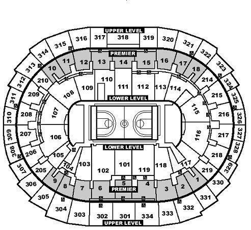 (1) Los Angeles Lakers Vs Boston Celtics 3/9 Ticket Sec304 Row3 ($199)