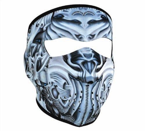 Hannibal Lector Full Neoprene Ski Face Mask Snowboard Motorcycle Biker Halloween
