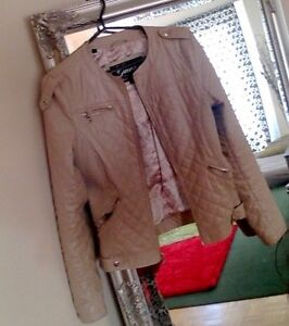 Guess Jacket- Quilted Cream colour Kitchener / Waterloo Kitchener Area image 1
