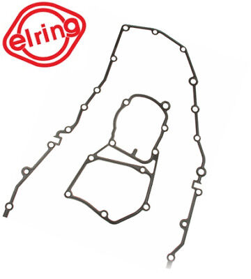 (BMW (92-95) E36 318is 318ti 318i Lower Engine Timing Cover Gasket Set Elring NEW)
