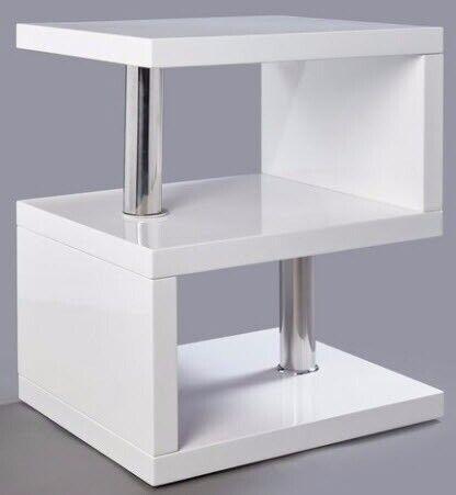 Remarkable White Gloss Led Side Table Unopened In Box Rrp 70 In Weybridge Surrey Gumtree Dailytribune Chair Design For Home Dailytribuneorg