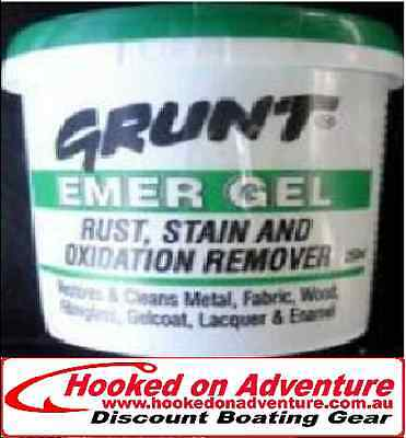 Grunt Emer Gel- Rust, Stain & Oxidation Remover 1 LITRE