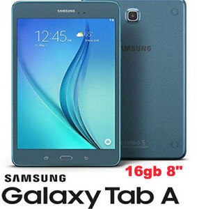 "NEW Samsung Galaxy Tab A 8"" 16 GB Wifi Tablet (Smoky Blue)"