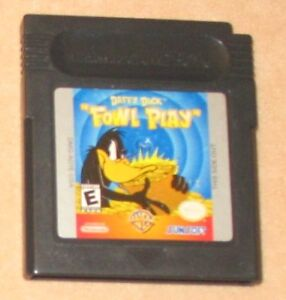 Daffy Duck Game for Gameboy