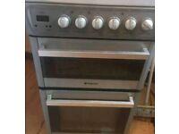 Electric cooker ceramic hob