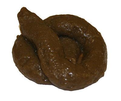 Sticky Soft Fake Dog Poo Turd Novelty Practical Joke Prank Fun